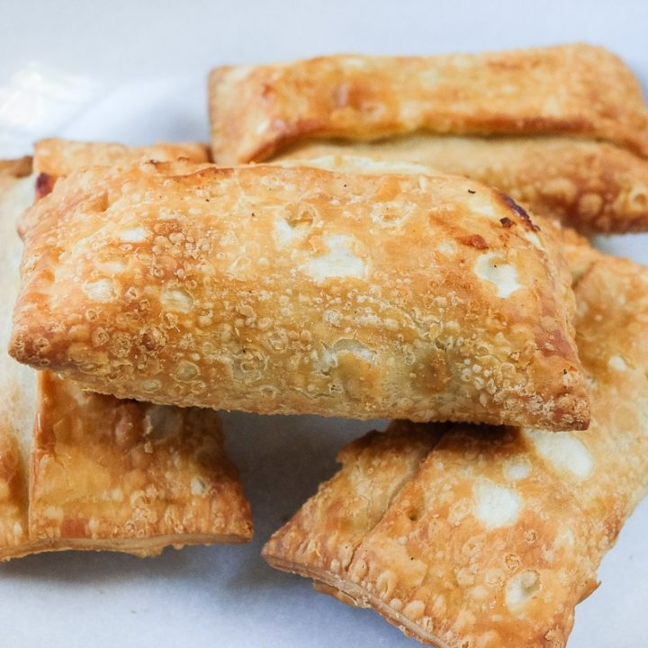 cooked egg rolls in bowl